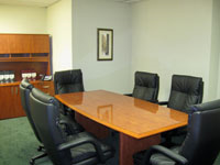 Conference room at McClane Law
